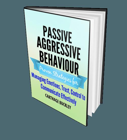 how to change passive aggressive behavior