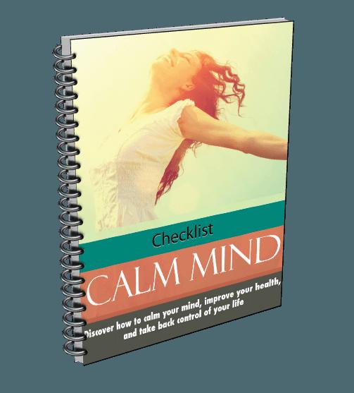 Calm Mind Healthy Body Checklist